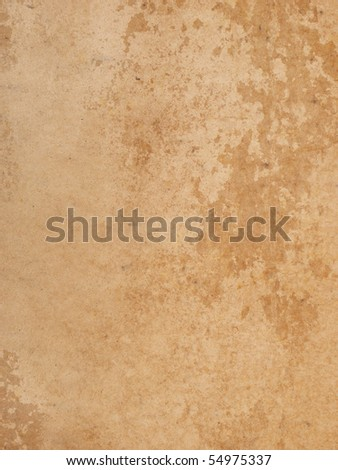 vintage paper sheet - stock photo