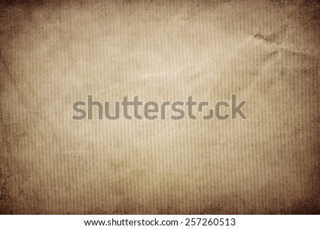 Vintage paper with plenty of copy-space for text