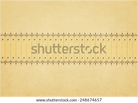 Vintage pastel background with  pattern - stock photo