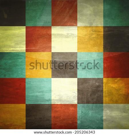 vintage pattern background,retro design - stock photo