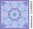 Vintage pattern for print, embroidery (you can use this pattern for carpet, shawl, pillow, cushion). Raster version. - stock photo