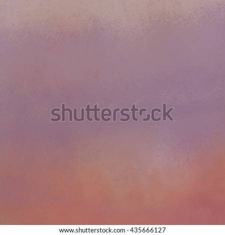 vintage purple and orange background with distressed faded grunge texture, painted watercolor wash style design - stock photo