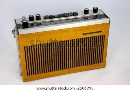 Radio 1970 Vintage 1970s Transistor Radio