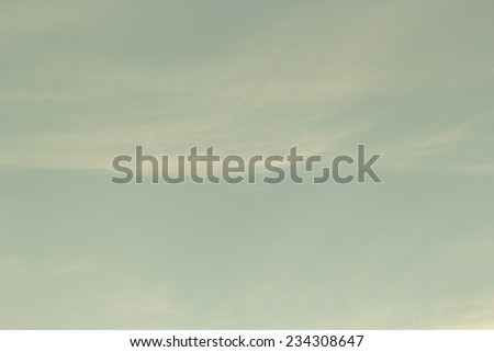 Vintage sky. - stock photo