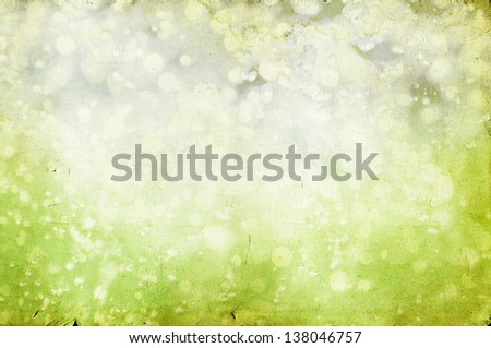 Vintage spring background - stock photo