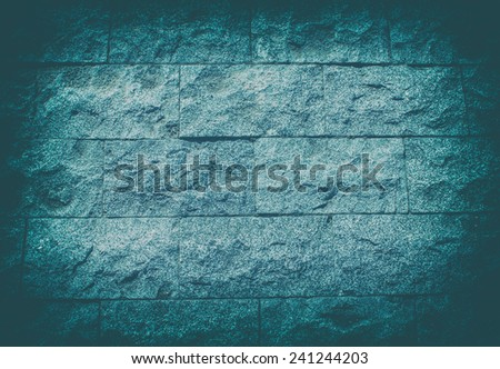 Vintage stone wall texture background - stock photo