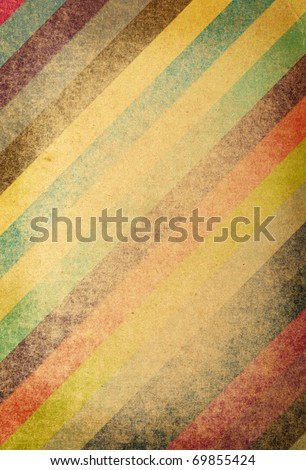 vintage striped background - stock photo