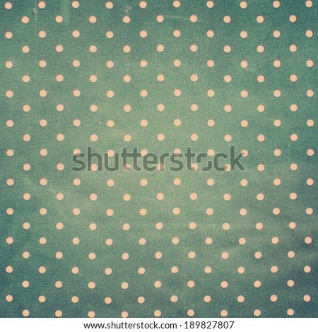 Vintage Textile with Pink Pears on Grey background, old Retro style - stock photo