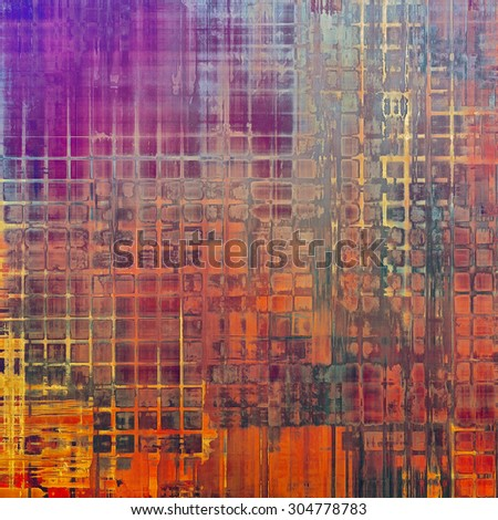 Vintage texture ideal for retro backgrounds. With different color patterns: yellow (beige); blue; red (orange); purple (violet) - stock photo