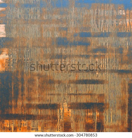 Vintage texture ideal for retro backgrounds. With different color patterns: yellow (beige); brown; gray; blue - stock photo