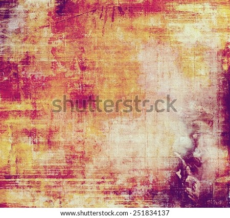 Vintage texture ideal for retro backgrounds. With different color patterns: yellow (beige); red (orange); purple (violet); pink - stock photo
