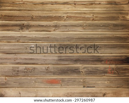Vintage texture of old boards. boardwalk wall - stock photo