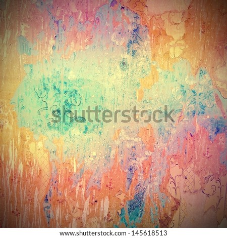 Vintage texture with space for text or image - stock photo
