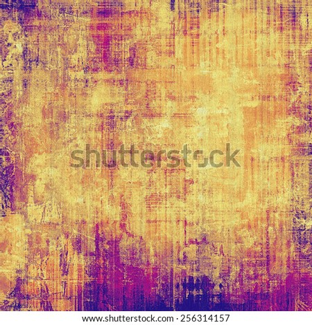 Vintage texture with space for text or image, grunge background. With different color patterns: yellow (beige); brown; purple (violet); pink - stock photo