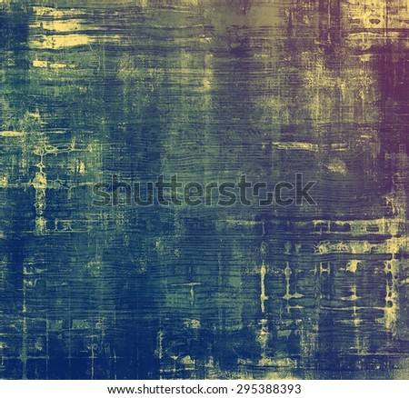 Vintage texture with space for text or image, grunge background. With different color patterns: yellow (beige); blue; purple (violet); green - stock photo