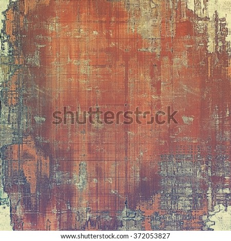 Vintage texture with space for text or image, grunge background. With different color patterns: yellow (beige); brown; red (orange); purple (violet); gray - stock photo