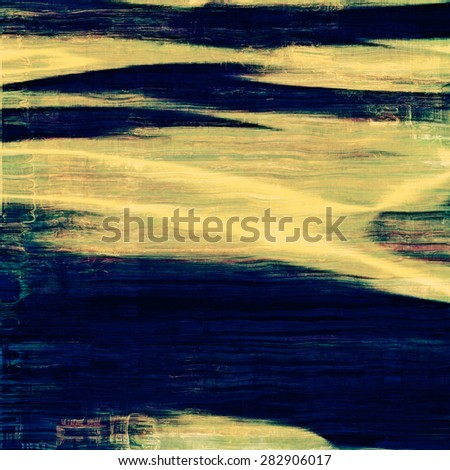 Vintage texture with space for text or image. With different color patterns: yellow (beige); brown; green; blue - stock photo