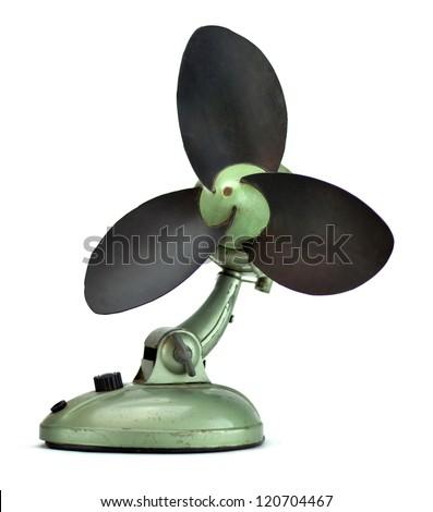 Vintage ventilator - stock photo