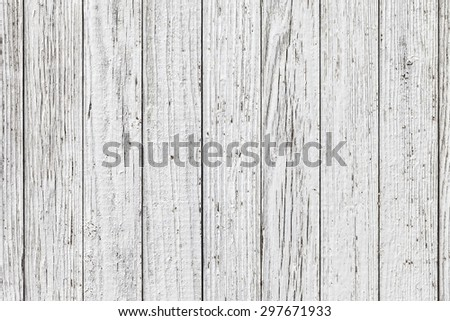 Vintage  White Background Wood Wall - stock photo