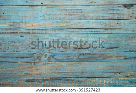 vintage wood background texture with knots and nail holes - stock photo