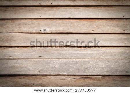 Vintage wood panel western cowboy saloon style from old warehouse with oval vignette effect and plenty of room for copy natural day light version - stock photo