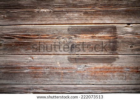 Vintage wood panels background with frame for text,  a lot of copyspace  - stock photo