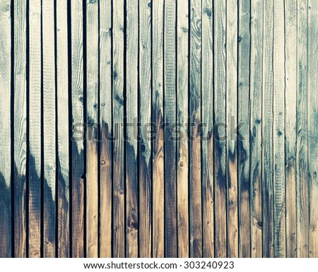 Vintage wooden background. Abstract rustic backdrop. Wallpaper texture. Retro style toned picture - stock photo