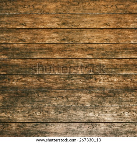 Vintage wooden background or texture made of old planks - stock photo