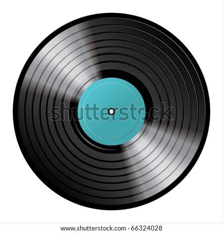 vinyl - stock photo