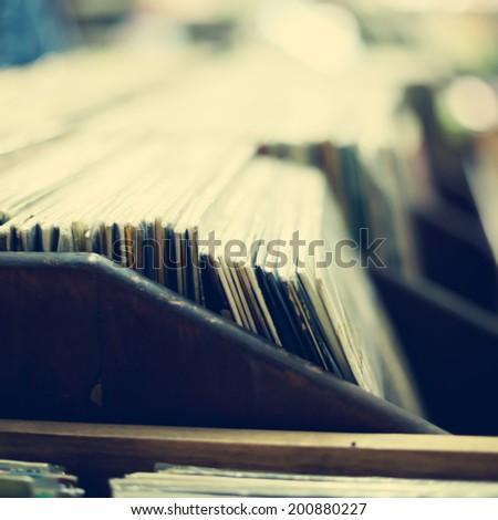 Vinyls  - stock photo