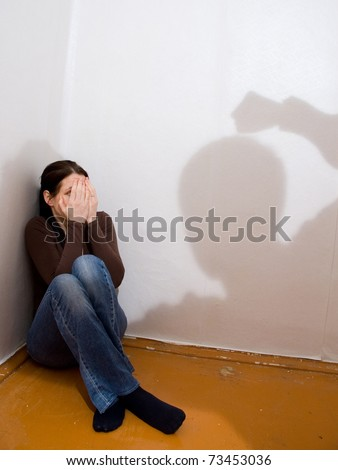 violence - stock photo