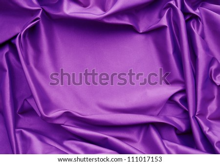 Violet silk background - stock photo
