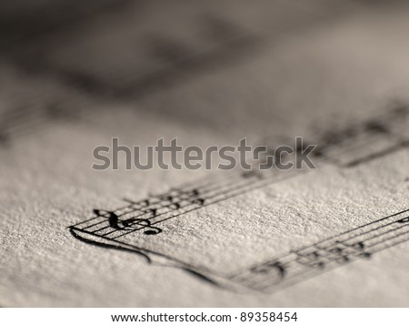 Violin key closeup,closeup, for music,melody themes - stock photo