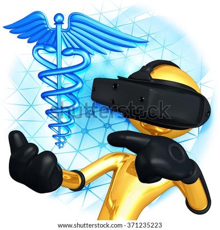 Virtual Reality Medical - stock photo