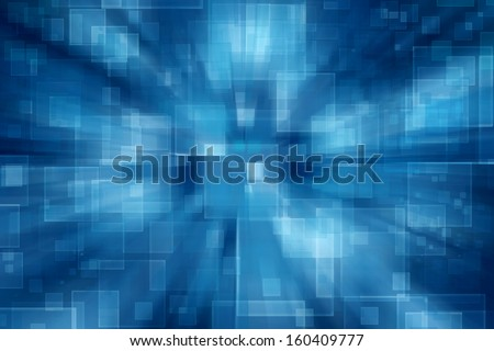 Virtual technology space  background - stock photo