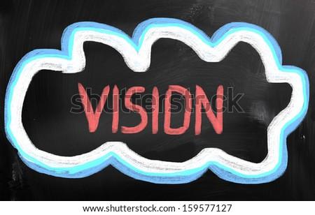 Vision Concept - stock photo