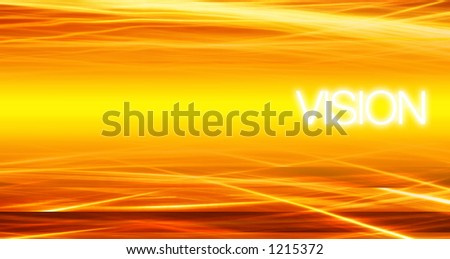 Vision - Technology background. concept for data transfer, communication, streams, etc. - stock photo