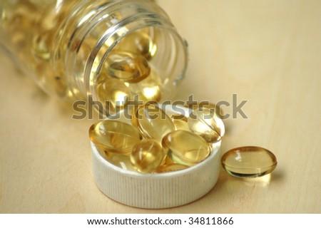 vitamin - stock photo