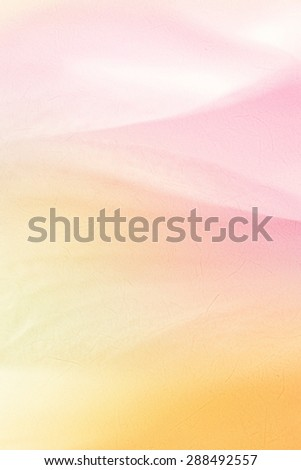 vivid color flower petals in soft color and blur style for background - stock photo