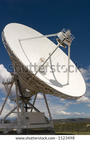 VLA part in New Mexico 1 - stock photo