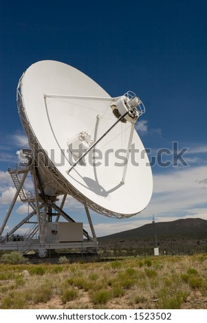 VLA part in New Mexico 5 - stock photo