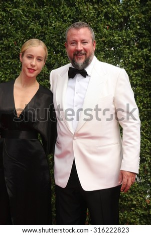 vLOS ANGELES - SEP 12:  Shane Smith at the Primetime Creative Emmy Awards Arrivals at the Microsoft Theater on September 12, 2015 in Los Angeles, CA - stock photo