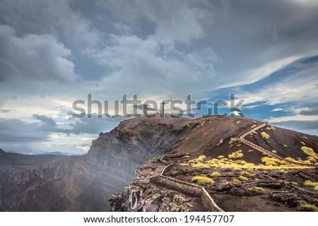 Volcan Masaya - stock photo