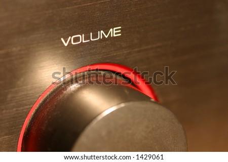 volume - stock photo