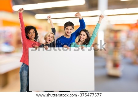 Volunteer. - stock photo