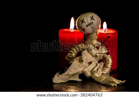 Voodoo - stock photo
