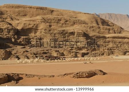 Wadi Rum, Jordan - stock photo