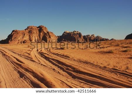 Wadi Rum, Jordan. - stock photo