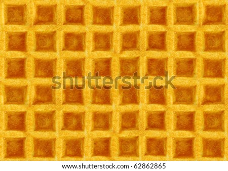 wafer texture - stock photo