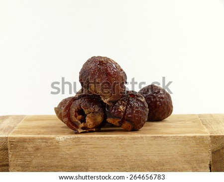 wahing nuts - stock photo